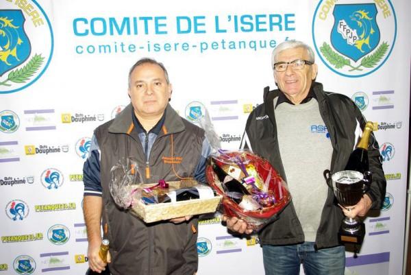 Gérard Lancine 1er.ex-aequo au Challenge Lachaud