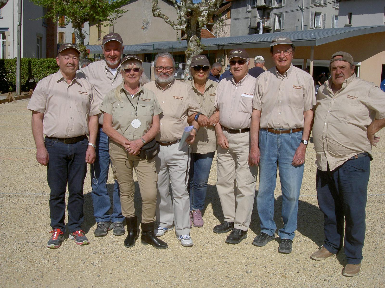L'équipe BRESSON 3